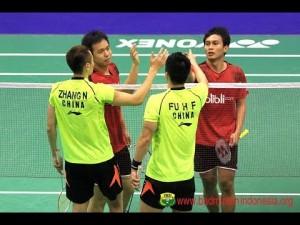 スマッシュ早すぎ R16 – M.Ahsan/H.Setiawan vs Fu Haifeng/Zhang Nan – 2014 Hong Kong Open